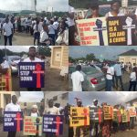 Busola Dakolo Rape Saga: Nigerians organise protest march to COZA in Lagos Nigeria – Video