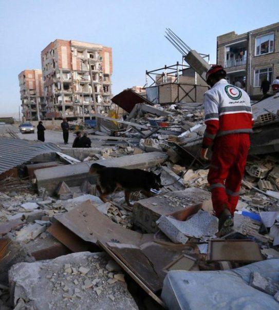 Deadly magnitude 5.9 earthquake hits northwestern Iran