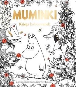 Muminki. Księga kolorowanek, Wydawnictwo Olesiejuk; Fot. Wyd. Olesiejuk