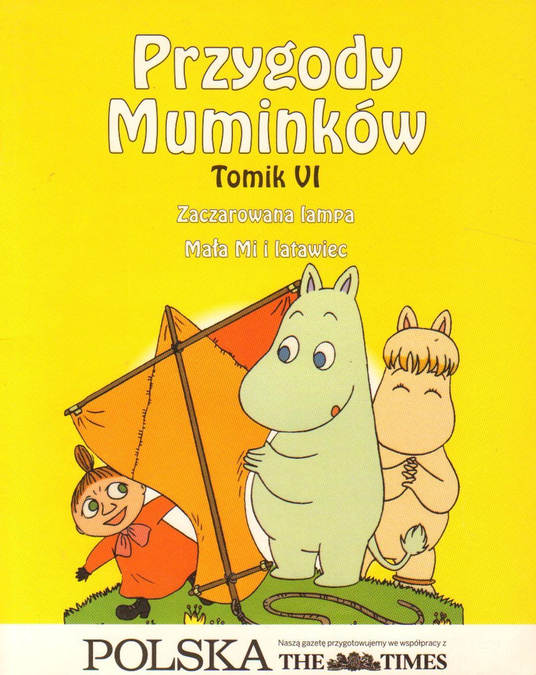 Tomik VI. Zaczarowana lampa. Mała Mi i latawiec #TataMariusz; Fot. w.bibliotece.pl