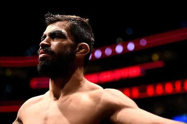 Elizeu Capoeira buscará terceira vitória consecutiva, desta vez contra Lyman Good (Foto: UFC)