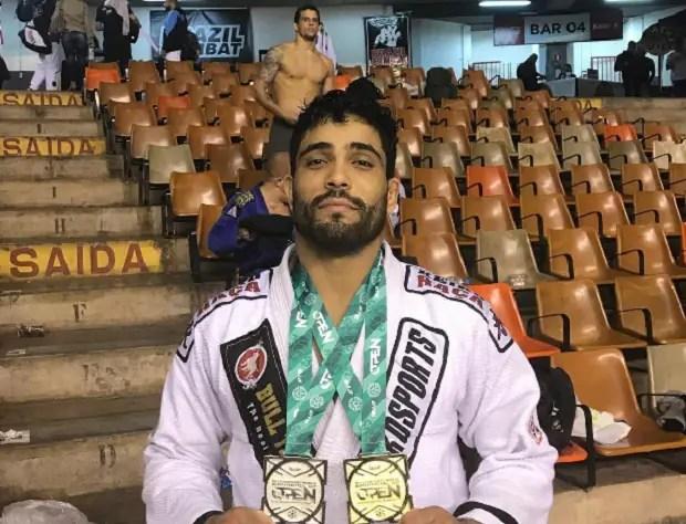 Dimitrius Souza é uma das feras confirmadas para a disputa do GP da IBJJF, em agosto (Foto: Reprodução)