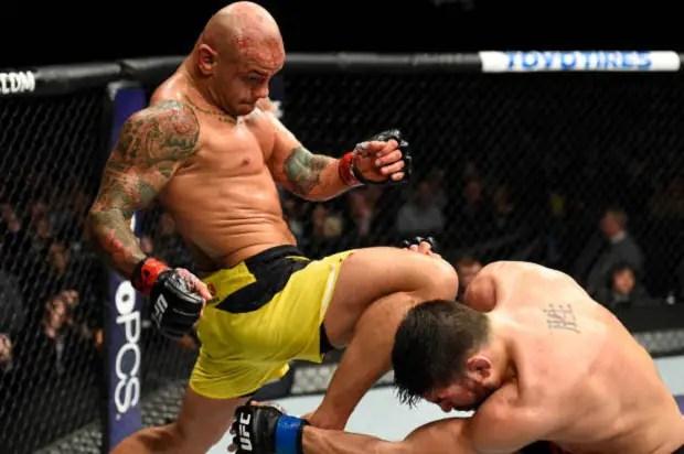 """Thiago """"Pitbull"""" Alves terá Mike Perry pela frente no UFC Fight Night 116 (Foto: Getty Images)"""