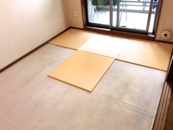 put on tatami
