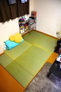 一人暮らしの畳スペース