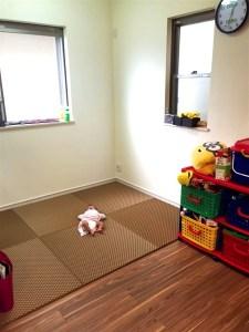 畳と赤ちゃんは相性抜群