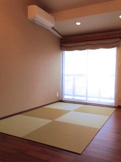 床暖房用の畳
