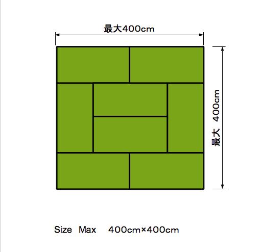 和室8帖の畳の敷き方