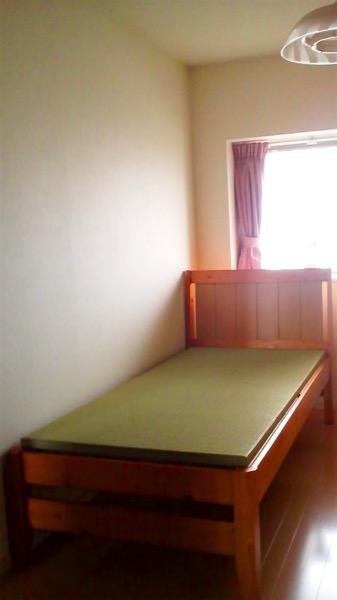 畳を敷いたベッド