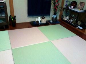 和室の畳を取り払ってフローリングにリフォームし、数年経って畳が恋しくなったというお客様