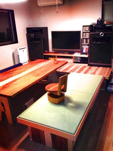 家具職人が作った畳ベンチ