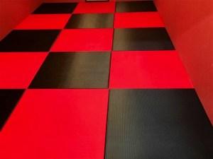 ハッキリしたコントラスを出したい場合は畳の2色使いで解決です!