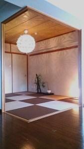 築19年のマンション和室をふちなし畳に替えました