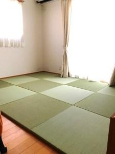 【畳DIY】とってもいい香りで癒されてます!家族みんな大満足です!