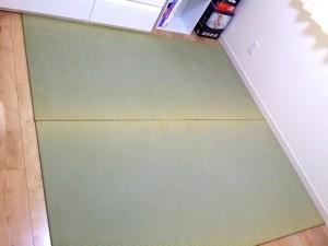 赤ちゃんのための畳スペース