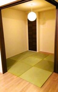 和室になった洋室。見事な和室が出来上がったと満足いただいた部屋の画像