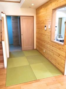 フローリング床暖房に対応する置き畳で畳コーナーを作ろう!【DIY】