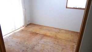 自分でできる畳替え。畳6枚から琉球畳の部屋に。