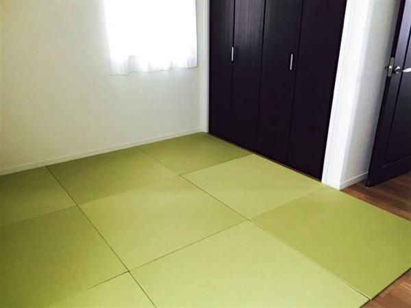 床暖房対応の置き畳