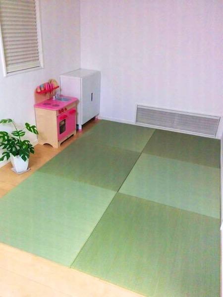 畳を敷いた部屋