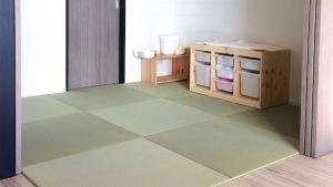 新築マンションに多いリビンルームの仕切り部屋を畳部屋にリフォーム