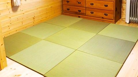 ペンションオーナーの部屋の畳