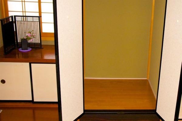 和室の仏壇を置くスペース