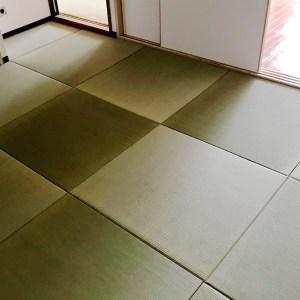 「DIYで畳部屋」フローリングの部屋を琉球畳にできる!