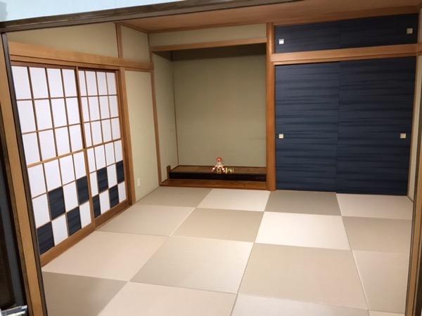 モカベージュの和室