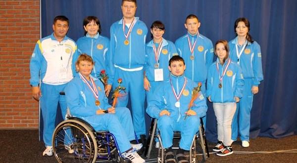 Три татарских паралимпийца из Казахстана завоевали награды на Всемирных Играх IWAS-2013 в Голландии