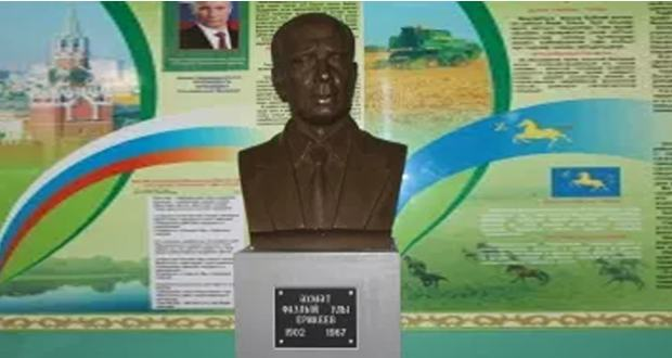 A bust of Tatar poet Ahmed Yerikei unveiled at the birthplace of the poet in Bashkortostan