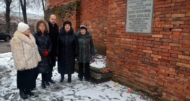 Латвия татарлары Муса Җәлилне искә алды