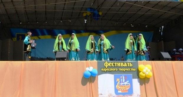 Kasimov Tatars took part in the national festival