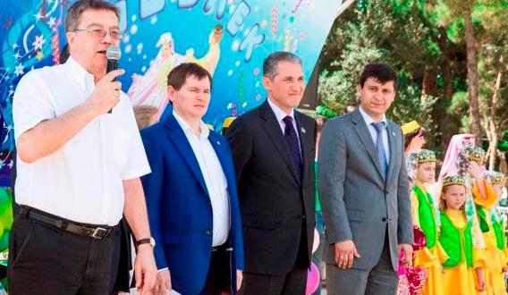 Татарская диаспора Азербайджана поблагодарила POZIS за Сабантуй