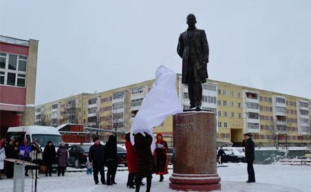 В Елабуге открыли памятник Тукаю