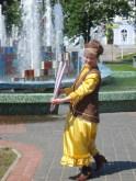 Венера Аллагулова, член общества, исполнитель татарских танцев