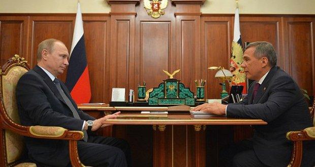 Татарстан Президенты вазифаларын башкаручы турындагы Указга имза салынды