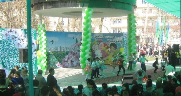 Праздник Навруз в Ташкенте