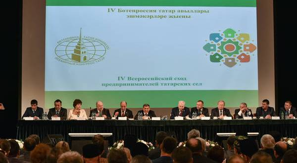 Rustam Minnikhanov: Potential of Tatar businessmen is known in all parts of Russia