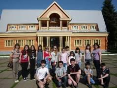 Учащиеся гимназии в с.Тукай–Кырлай