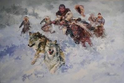 Охота загоном