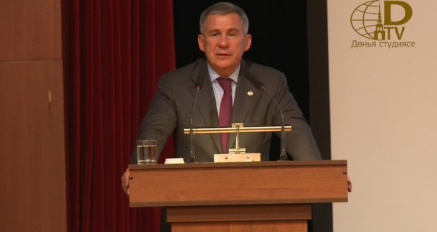 "Rustam Minnikhanov at the forum ""Business partners of Tatarstan"": This platform has proved its efficiency"
