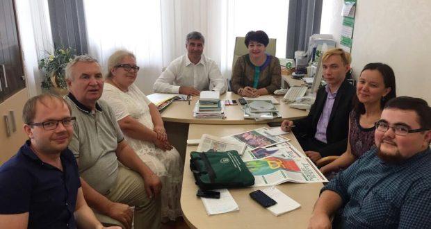 Председатель Национального совета – Милли шура познакомился с работниками Информационно-аналитического управления ВКТ
