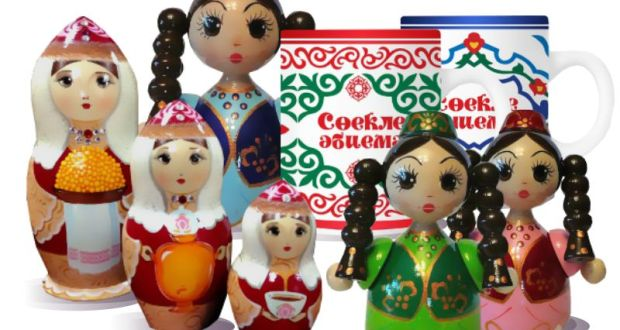 Туристический сувенир Республики Татарстан