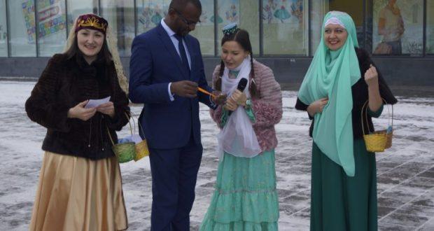 Всемирный День приветствия по сибирски