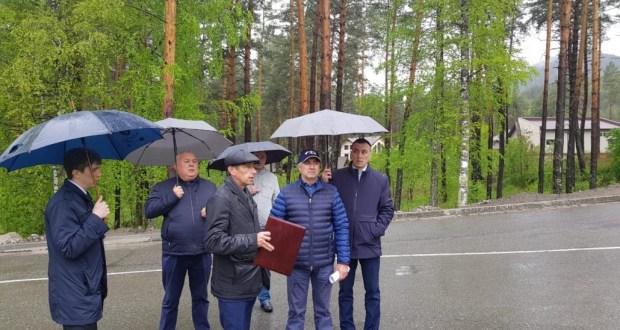 Василь Шайхразиев осмотрел место проведения Сабантуя в Алтайском крае