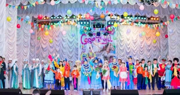 Сабантуй на сцене дома культуры «Химик»  киргулийского района г.Ферганы