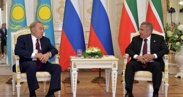 Казахстан Президенты Нурсолтан Назарбаевның Татарстан Республикасына эш сәфәре