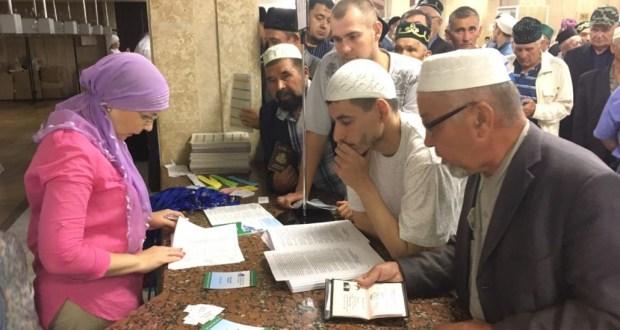 Бөтенроссия татар дин әһелләре форумы делегатларын теркәү башланды