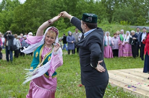 In the Kemerovo region a competition of the Tatar costume and the national farmstead